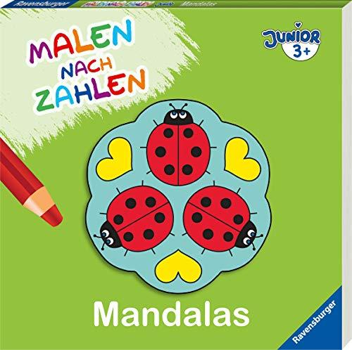 Malen nach Zahlen junior: Mandalas