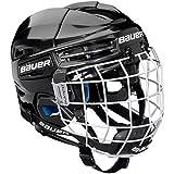 Bauer Kinder Eishockeyhelm nit Schutzgitter PRODIGY-Serie für Kids Helm Eishockey, schwarz, one Size
