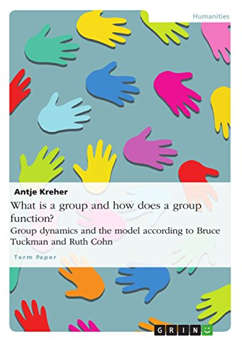 What is a group and how does a group function? Group dynamics and the model according to Bruce Tuckman and Ruth Cohn (English Edition)