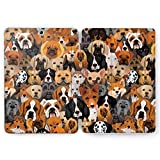 Wonder Wild Dog Picture Samsung Galaxy Tab S4 S2 S3 A E Smart Stand Case 2019 S6 S5e 2017 2018 Tablet Cover 8 9.6 9.7 10.1 10.5 Inch Clear Pet Basset Bulldog Puppy Breeds Akita Dachshund Shiba