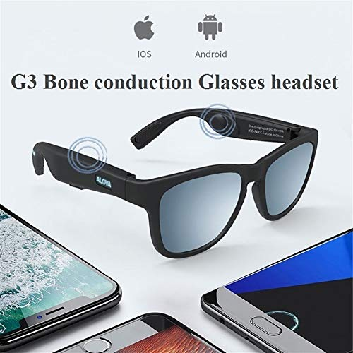 Best Prices! Xiao Tian Bone Conduction Bluetooth Glasses, Anti-Blue Sunglasses, Bone Sensing Smart W...