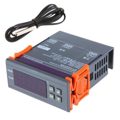 KKmoon Digitaler Temperaturregler 30A 220V Thermoelement -40 ℃ bis 120 ℃ mit Sensor