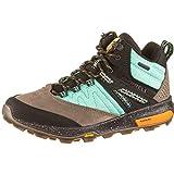 Merrell Zion Mid WP X, Zapatillas de Trail Running para Mujer, Wave, 42 EU