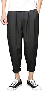 2102bababf87 LiucheHD-Pantaloni Sportiva da Uomo Casual Pantaloni Jogging Sport Slim Fit  Pantaloni da Uomo Cotone