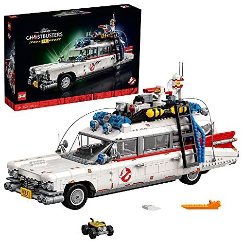 LEGO 10274 Creator ECTO-1 de los Cazafantasmas Maqueta Grande de Coche de Ghostbusters Modelo de Coleccionista para Adultos