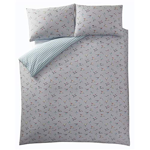 Oasis, Hummingbird, King 230 x 220 Centimetres, Duvet Set