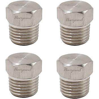 Pack of 2 3//8 NPT Male Hex Socket//Countersunk Plug Metalwork 304 Stainless Steel Pipe Fitting