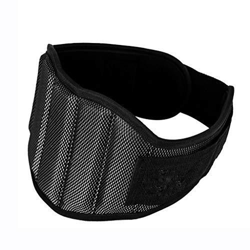 SYN-GUGAI Soporte Lumbar/cinturón de Apoyo para la Espalda Baja, Cintura de Apoyo Deportivo, Apoyo de Cintura Completo, Doble presurización, Postura Correcta, Cintura Transpirable (Size : Large)
