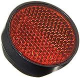 Prophete Reflektor zur Montage am Schutzblech, rot Fahrradreflektor, schwarz, L