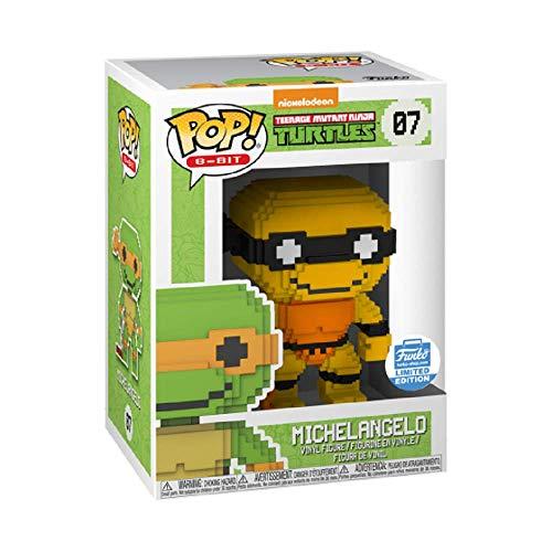 Teenage Mutant Ninja Tutles Funko Pop 8-bit 07 Turtles TMNT 25024 Michelangelo Funko Exclusive