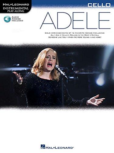 Adele: Cello (Hal Leonard Instrumental Play-Along)