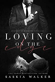 Loving On The Edge (Masters at Midnight) by [Saskia Walker, Covers by  Combs]