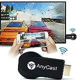 Wireless Display Adaptor mac,WiFi 1080P Mobile Screen Mirroring Receiver Dongle Wireless WiFi Display Adapter Dongle,HDMI TV Stick Screen Mirroring WiFi Display Dongle Full HD 1080P HDMI Dongle