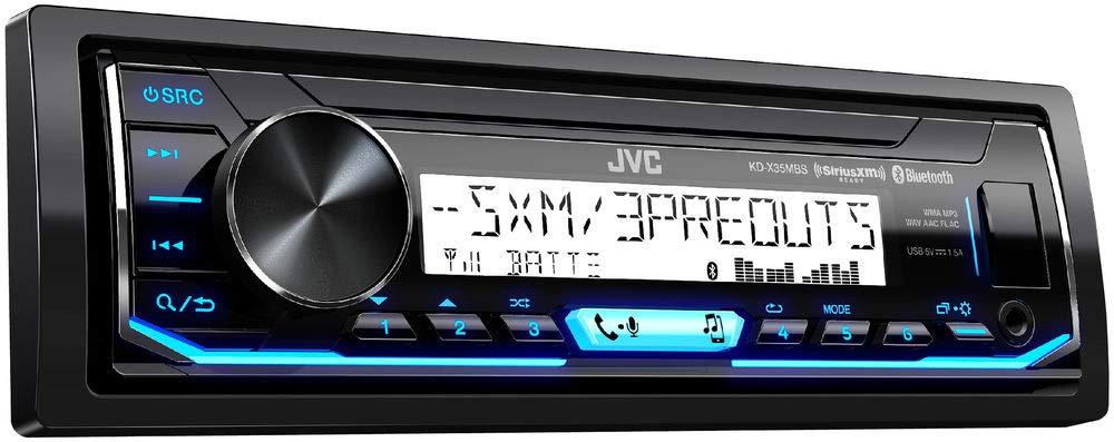 JVC KD X35MBS SiriusXM Bluetooth Receiver