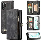 Zttopo Galaxy Note 10 Plus /10+ Wallet Case, 2 in 1 Premium...