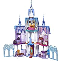 Disney Frozen Ultimate Arendelle Castle Playset with Lights, Moving Balcony, & 7 Rooms with Accessories