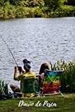 Diario de Pesca: Cuaderno de Pesca | Con Espacio Para Apuntar Todos los Detalles | Fecha, Caña y Aparejos, Capturas, Clima... | Regalo Perfecto para...