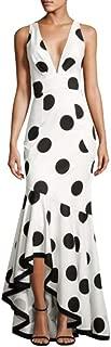 Sachin & Babi Gabriella Gown High Low Dots - Polka Dots - 6US(Medium)