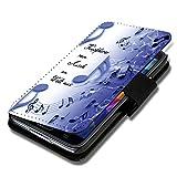 Book Style Flip Handy Tasche Case Schutz Hülle Schale Motiv Etui für Huawei Ascend Y330 - A42 Design11