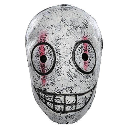XWYWP Mscaras Halloween Cosplay Mscara La Legin Trapero Horror Latex Mscara Halloween Masquerade Partido Prop