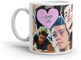 Tyna Ho Dylan Obrien collage A Great Tea Cup With Its Large 11 Oz