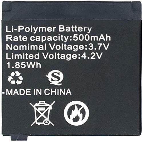 1 A 8 Baterías Recargables De Polímero De Iones De Litio De 3 7V 500Mah para Relojes Inteligentes Q18 33X31X5Mm / 1 29X1 22X0 19 Baterías De Litio 4Pcs-4Pcs