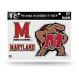 NCAA Rico Industries Die Cut Team Magnet Set Sheet, Maryland Terrapins