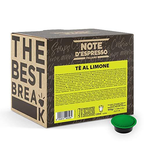 Note D'Espresso, Tè al Limone, Capsule Compatibili Soltanto con sistema LAVAZZA* A MODO MIO*, 100 caps X 9.5g