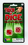 Forum Novelties Loaded Trick Dice (Roll a 7 or 11 Every Time)