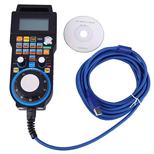 Volante elettronico industriale a 4 assi MACH3 USB CNC Volantino Controller di movimento Controllo manuale Generatore di impulsi