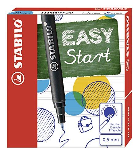Patronen zum Nachfüllen - STABILO EASYoriginal Refill - medium - 20er Pack - Schreibfarbe blau (löschbar)