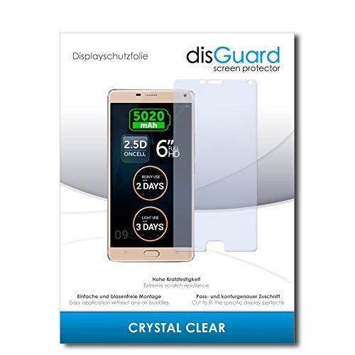 disGuard® Bildschirmschutzfolie [Crystal Clear] kompatibel mit Allview P8 Energy Pro [2 Stück] Kristallklar, Transparent, Unsichtbar, Extrem Kratzfest, Anti-Fingerabdruck - Panzerglas Folie, Schutzfolie
