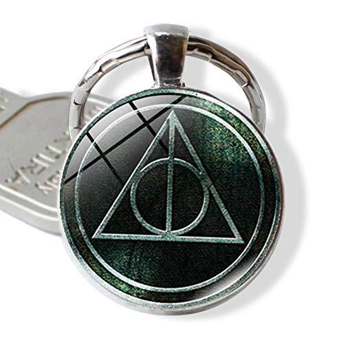 Bosi General Merchandise Harry Potter, Reliquias de la Muerte, Llavero con Gemas del Tiempo, Accesorios para llaveros, Regalos creativos
