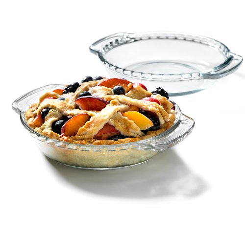 Glass 6 Inch Mini Pie Plate, Set of 2