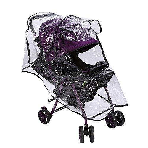 Parapioggia passeggino universale, parapioggia impermeabile in PVC, parapolvere antipolvere per carrozzina passeggino