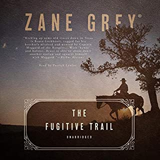The Fugitive Trail audiobook cover art