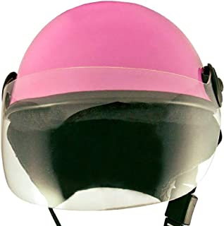 HELMET FOR ALL SAFETY PURPOSE PINK GLOSSY (LARGE)