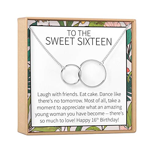 Sweet 16 Gift Necklace: Sweet Sixteen, 16th Birthday, Gift for Her, 2...