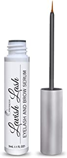 Pronexa Hairgenics Lavish Lash – Eyelash Growth Enhancer & Brow Serum with Biotin & Natural Growth Peptides for Long, Thick Lashes and Eyebrows! Dermatologist Certified, Cruelty Free & Hypoallergenic.