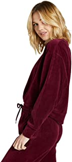 Rockwear Activewear Women's Serengeti Velour Pullover from Size 4-18 Hoodies & Sweats for Tops