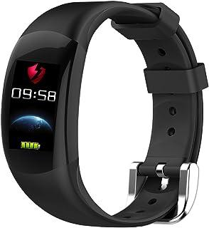 LEMFO LT02 - Pulsera Elegante Color LCD Pulsera de Fitness, Pulsómetros  Fitness Pulsera IP68 Impermeable Podómetro Smart Band Bluetooth