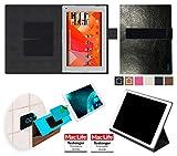 Hülle für Medion Lifetab P8912 Tasche Cover Case Bumper | in Schwarz Leder | Testsieger