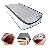 Attic Stairs Insulation Cover 25' x 54' x 11' - Attic Ladder Insulation Cover - Attic Insulation Tent with Zipper - Fire Proof Attic Cover Stairway Insulator