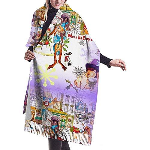 Cathycathy zeil ons elke broodjes-sjaal-verpakking-winter-warme sjaal-omhang grote zachte sjaalverpakking