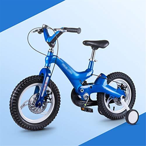 LZ Kinderfiets pedaal 14 / 16 inch 3/4/5/6 jaar mannen en vrouwen van magnesium legering fiets intrekbaar kinderwagen