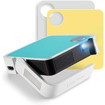 ViewSonic M1 mini, WVGA Ultra-Portatil Pocket proyector, 120 LED ...
