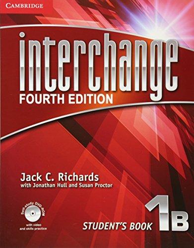 Interchange Level 1 Student's Book B with Self-Study DVD-ROM