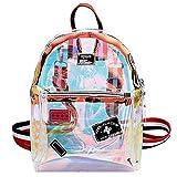 Goodbag Boutique Fashion Hologram Mochila de piel con láser, brillante, mochila escolar, (03886jelly Transparent), Talla única