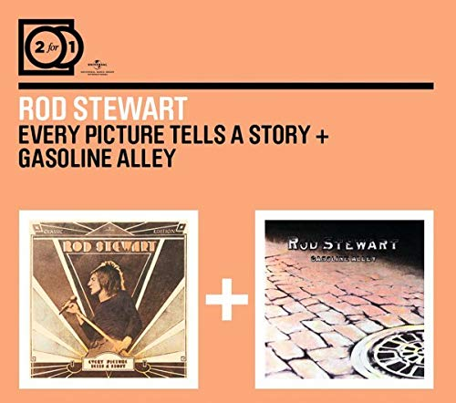 2 For 1:Every Picture Tells A Story/Gasoline Alley (Digipack ohne Booklet)