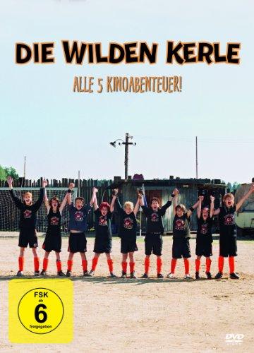Die wilden Kerle - Alle 5 Kinoabenteuer! [5 DVDs]